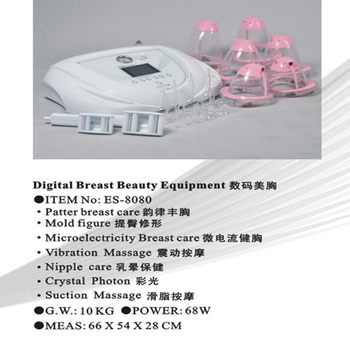 Suction Massage Machine for Breast