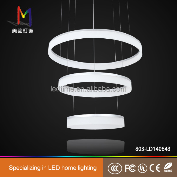 Western style high quality acrylic pendant light with CE RoHS certificate