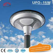 home led UFO 15W solar circular sensor night light