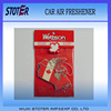 Custom Promotional Country flag Hanging Paper Air Freshener