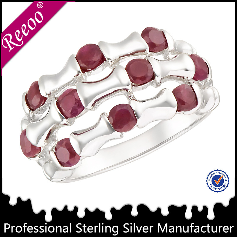 Wholesale bali silver poison ring