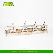 Star style Christmas decoration handmade candle holder