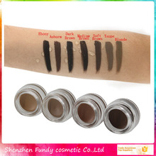 Your own brand makeup eyebrow best selling products eyebrow gel waterproof brow pomade 7 colors