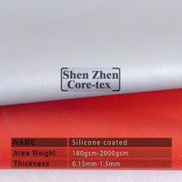 liquid silicone for coated fabric for air duct