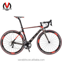 SAVA factory 22 speed Carbon fiber fork road bicycle for racing bike 700c wheelset size