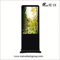 55 Inch Stand Alone Marvel Good Quality bus dvd player
