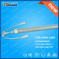 Super brightness China manufacturer led cooler tube lights SMD5630 leds 1.5m 22w UL CUL high lumens