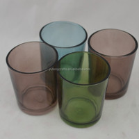 empty glass jars candle lanterns for weddings bulk glass votive candle holders