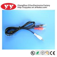 Supply yiyue 15p vga m to 2 rca audio 3.5 extension cable