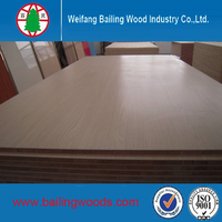 25mm thick Paulownia core melamine block board