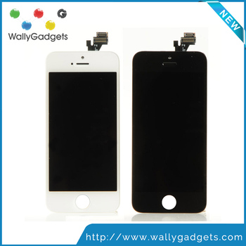 Alibaba China Top Quality No Dead Pixel Pantalla For iPhone 5 LCD with Touch Screen Digitizer Assembly Fast Shipping