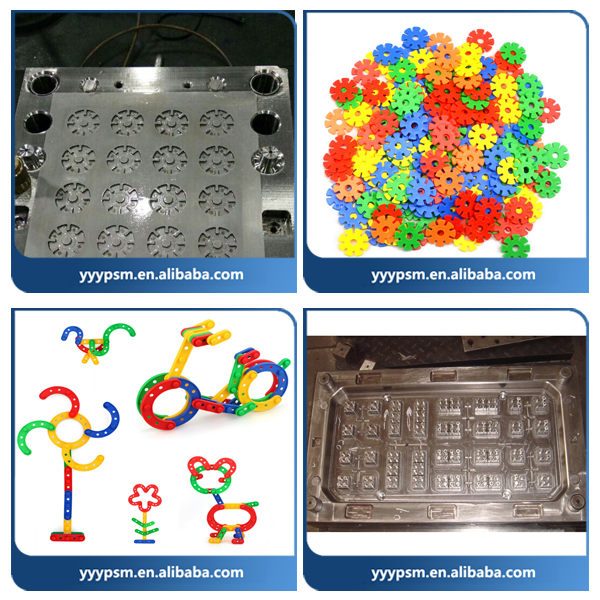 A variety of Building Blocks Mould/Injection plastic mould