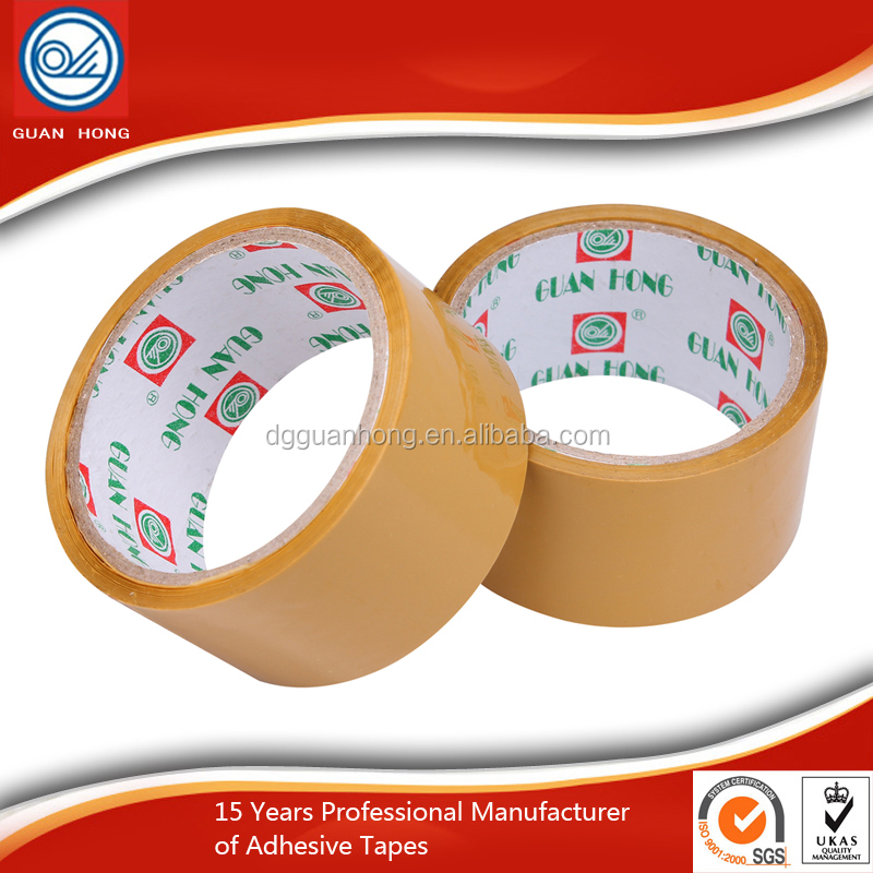 Acrylic Adhesive 40/50Mic Clear Tape For Boxing Accessories