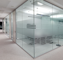 Soundproof office partition glass cubicle partition made in China