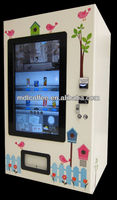Gumball/candy/bouncy ball/toy capsule vending machine for ads player LV-205Y-46