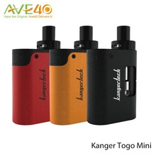 2016 New Arrival rokok elektronik Kangertech TOGO Mini /Kanger new starter kit TOGO Mini