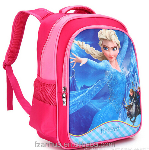 STP013 kids backpack frozen school backpacks for primary school bags prices usd3-6/pc 1pc sell