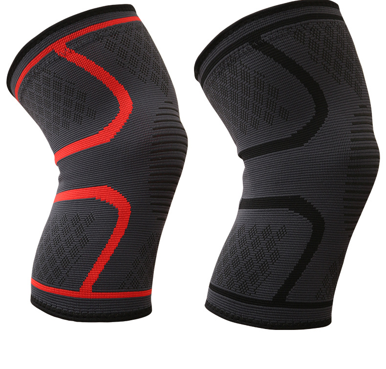 YIBISH Nylon Knee Support Pad Brace Open Patella Injury Arthritis <strong>Protective</strong> Kneepad Sports #HX-17