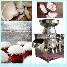 Bakery shop used stainless steel coconut grating machine for making desiccated coconut