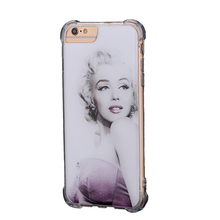 Sticky Accessories Cute Girl Anti-Gravity Case Design Back Cover Mobile Phone Shell