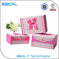 Fashion Color Folding Jewelry Packaging Gift Box/Shoe Box Folding
