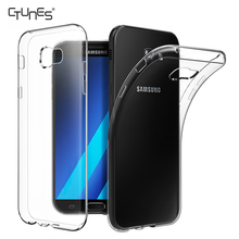 For Galaxy A7 2017 Case,Soft TPU Crystal Clear Transparent Slim Anti Slip Shockproof Case Cover For Samsung Galaxy A7 2017 A720