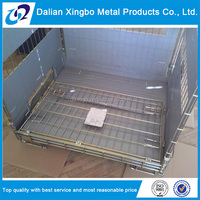 high quality rolling secure cage container