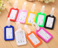 High quality and favorable price plastic luggage tag