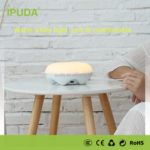 2017 new articles IPUDA modern bedroom table lamps with smart motion sensor infinite dimmable brightness