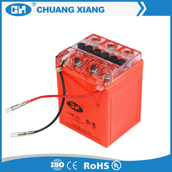 Cheap prices 12V 2.5ah Gel Battery for Motorcycle
