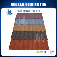 Hot sale stone coated steel roofing tile