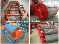 TD 75 Type Conveyor motor/turnaround rubber pulley/drum for cement by ISO/CE Chinese largest manufacturer near beijing