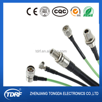 DIN / BNC / SMA / F / N / TNC / MCX rf coaxial connector and cable assembly manufacture in China