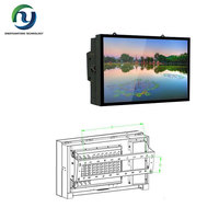 new design outdoor advertising signs wall mounting digital LCD AD player