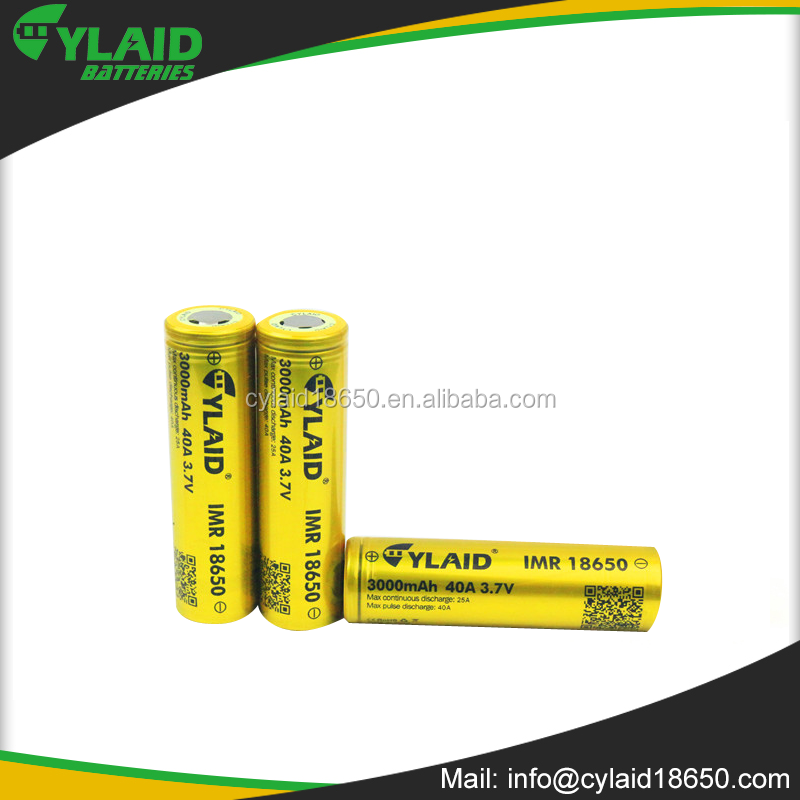 small battery 3000MAH 3.7V 18650 battery rechargeable charge sdi li-ion battery