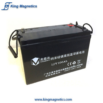 Low temperature 12v 200ah 100ah off grid solar system battery deep cycle storage