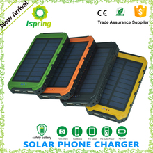 2016 high demand portable mobile phone solar charger