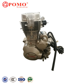 Crypton Motorcycle Spare Parts Twin Cylinder 250Cc Engine, Diesel Motorcycle Engine