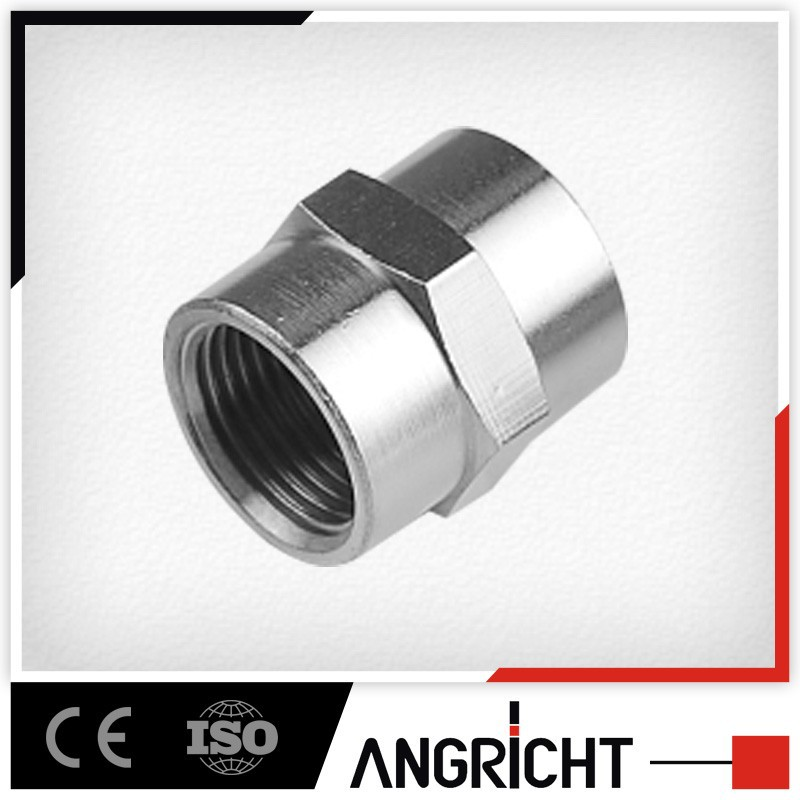 B411 PSF hot selling cnc double rca female threaded compression fitting connectors