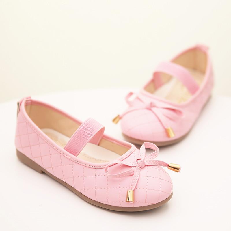 Popular Children Filat Shoes Baby Doll Girls