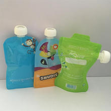 BPA Free Dishwasher Safe Eco Friendly Reusable Baby Food Pouch