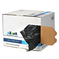 Plastic Extra strong-Tall Drawstring Bags - 13 Gallon - Black - 200/case