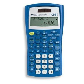 Refurbished TI-34 II Scientific Calculator