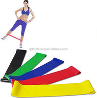 12 inch length 2 inch width natural latex exercise resistance loop band