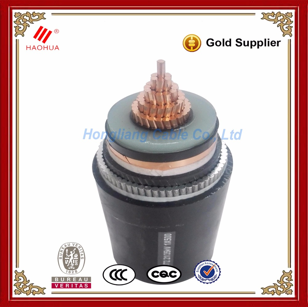 No.0277-- 6kV 10kV 11kV power cable 3 phase single phase Underground LSZH LSHF electric wire and cable 120mm