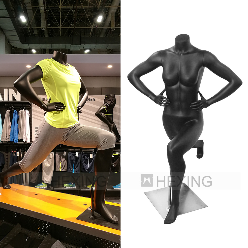 Sporting Women Headless Female Mannequin With Big Breast