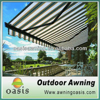 canvas fabric stripe awning