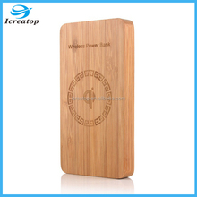High Capacity 6000mAh Wireless Charger Power Bank,Ultra-Thin Wireless Charger,mobile phone battery wireless charger