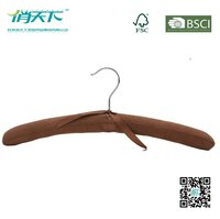 Betterall Wholesale Cheap Cotton Wool Padded Satin Hanger