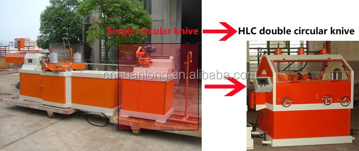 LJ-2D HLC Numerical Digital Control Double Circular Knives Paper Tube Making Machine